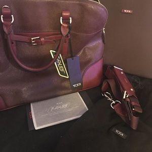 Women Tumi laptop office bag travel bag